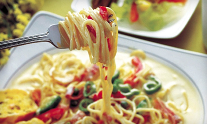 Pio's Pasta Co.  - Gainesville: Italian Dinner for Two or Italian Lunch Fare at Pio's Pasta Co. (Up to 52% Off)