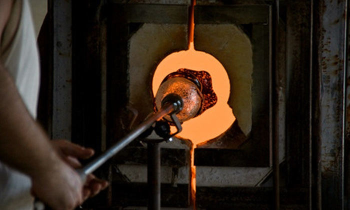 Peter Patterson Glassworks - Mundelein: Introductory Glass-Blowing Class for One or Two at Peter Patterson Glassworks in Mundelein (Up to 52% Off)
