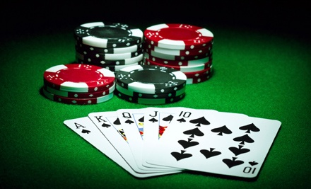 Casino Night for 4 (a $91.55 Total Value) that Includes 1 Appetizer (Up to $7.95), 4 House Salads, ($5.95 Each) 4 Entrees (Up to $14.95 Each) and 4 $10 Match-Play Vouchers for Blackjack - Casino Royale in Sacramento