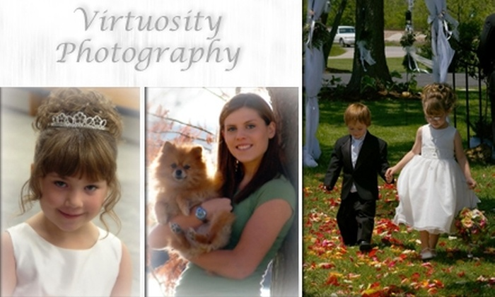 Virtuosity Photography  - St. Clair: $45 for a Photography Package from Virtuosity Photography