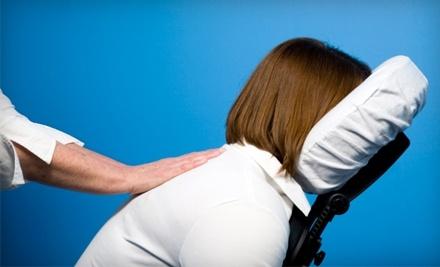Busye Bodye Naturals: 20-Minute Chair Massage - Busye Bodye Naturals in Abbotsford