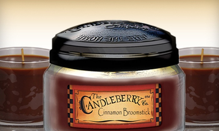 The Candleberry Company: Candles, Scents, and Gifts from The Candleberry Company  (Up to 56% Off). Two Options Available.