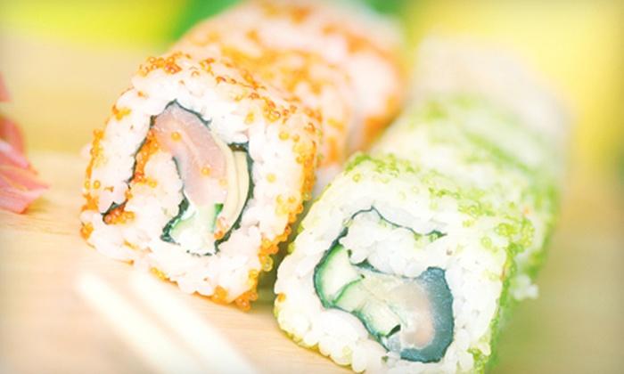Japanese cuisine arisu groupon for Arisu japanese cuisine