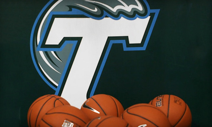 Tulane Green Wave Basketball - New Orleans: Tulane Green Wave Basketball Doubleheader for One or Two (Up to 72% Off)