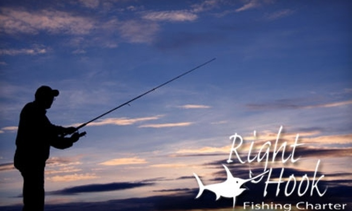 Right Hook Fishing Charters - Riviera Beach: $35 for an Individual Admission Aboard a Four-Hour Drift Fishing Trip with Right Hook Fishing Charters ($70 Value)
