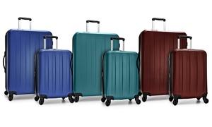 Elite Havana Expandable Spinner Luggage Set w/ USB Port (2-Piece)