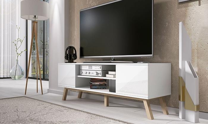 Mueble de tv vero wood groupon goods for Muebles tv amazon