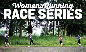 Women's Running UK: Entry to Women's Running 5K or 10K Race, 21 May - 8 October, Multiple Locations (Up to 29% Off)