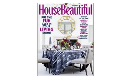 House Beautiful Subscription Livingsocial Shop