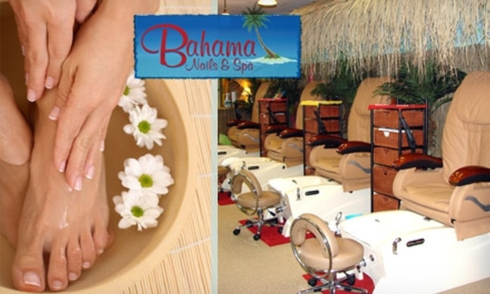 Bahama Nails & Spa of Winter Park - Winter Park: $20 Mani-Pedi at Bahama Nails & Spa of Winter Park ($40 Value)