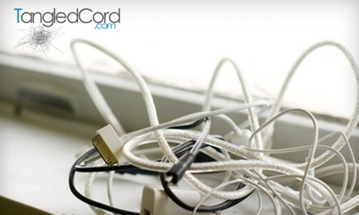 Tangled Cord - Walkerville: $50 for $110 Worth of Tech Services from TangledCord