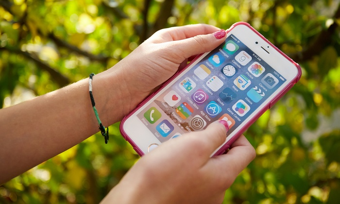 iPhone Screen Repair, Drone Repair, or Tempered Glass Installation at iParts and Phone Repairs (Up to 70% Off)