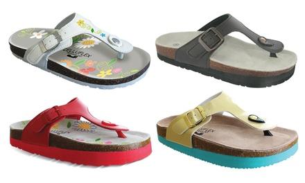 Sandales minceur et confort CELLUFLEX, modèle EOLE