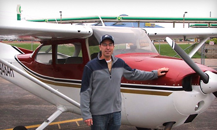 Solverson Aviation - Reedsburg: $119 for a Romantic Flight for Up to Three from Solverson Aviation in Reedsburg ($200 Value)