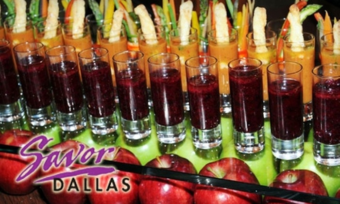 Savor Dallas - Multiple Locations: $17 for Admission to Arts District Stroll ($35 Value) or $60 for Admission to Grand Tasting Event ($100 Value) from Savor Dallas