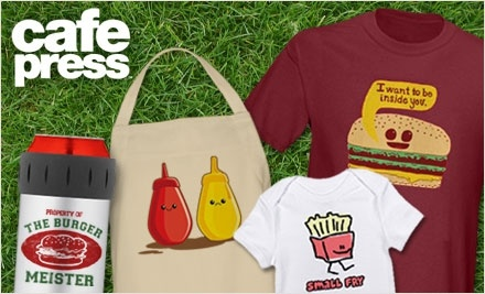 $50 Groupon to CafePress - CafePress in