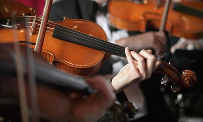 Arkansas Symphony Orchestra - Little Rock: Outing for Two, Four, or Six to an Arkansas Symphony Orchestra Concert (Up to 58% Off). Three Shows Available.