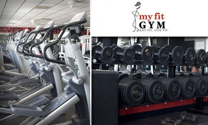 My Fit Gym/River Oaks Fitness - Neartown/ Montrose: $49 for Five Personal Training Sessions and Tailored Nutritional Consultation at My Fit Gym/River Oaks Fitness ($410 Value)