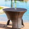 Alexandria Wicker Outdoor Storage-Ottoman Table