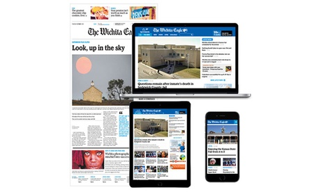 26- or 52-Week Sunday Home Delivery Subscription and Full Digital Access from The Wichita Eagle (Up to 86% Off).