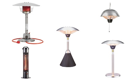Tabletop or Ceiling Patio Heaters