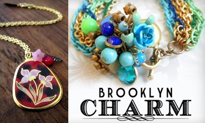 Brooklyn Charm - Greenpoint: $15 for $30 Worth of Customized Jewelry and More from Brooklyn Charm in Williamsburg