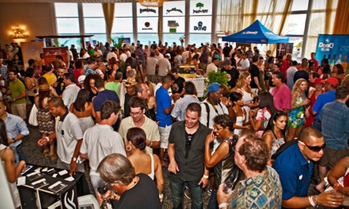 Miami Rum Renaissance Festival - Deauville Beach Resort: One- or Two-Day Entry to Grand Tasting Event on April 21–22 at Miami Rum Renaissance Festival (Up to 56% Off)