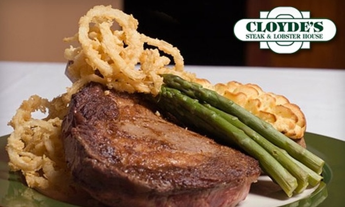 Cloyde's Steak and Lobster House - Park Shore: $20 for $40 Worth of Dinner Fare and Drinks at Cloyde's Steak and Lobster House