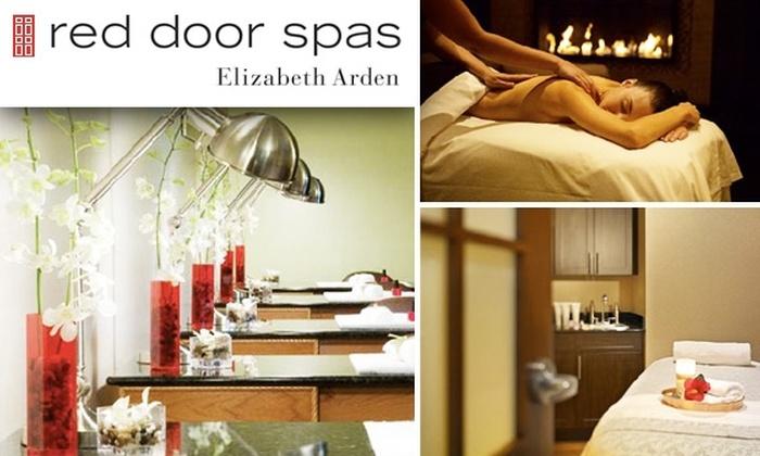 Half Off At Elizabeth Arden Red Door Salon U0026 Spa