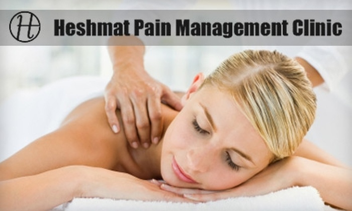Heshmat Pain Management Clinic - Evergreen Park: $40 for a 50-Minute Deep Tissue or Full-Body Relaxation Massage at Heshmat Pain Management Clinic in Palo Alto