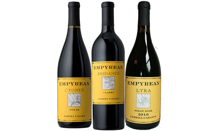 Splash Wines: Empyrean 3-Pack from Splash Wines (Up to 67% Off)