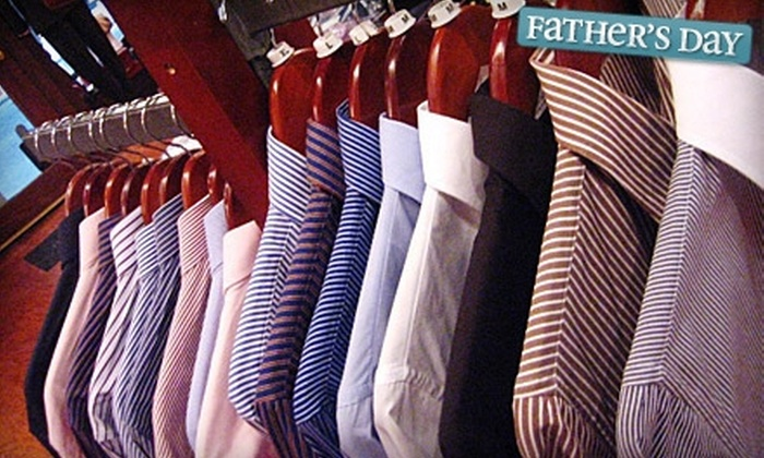 Cuffs & Collars - Boston: $55 for $125 Worth of Apparel and Accessories at Cuffs & Collars