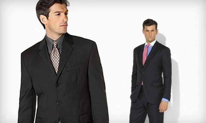Le Monsieur - Downtown Los Angeles: $50 for $110 Worth of Men's Suits and Fine Apparel from Le Monsieur