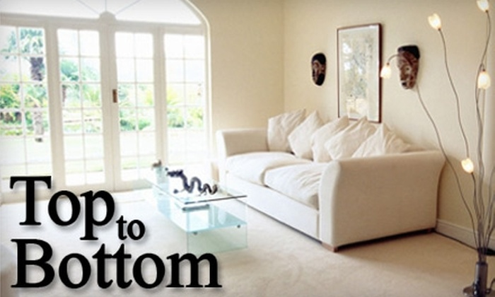 Top to Bottom - Wichita: $69 for Up to Two Hours of Home Cleaning from Top To Bottom (Up to $160 Value)