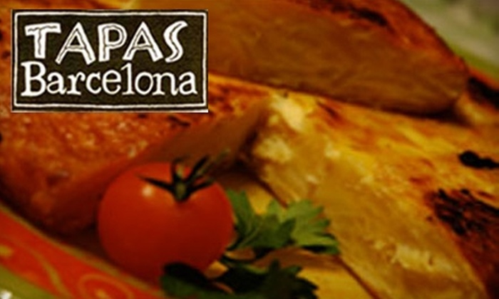 Tapas Barcelona - Evanston: $15 for $30 Worth of Spanish Small Plates and Drinks at Tapas Barcelona in Evanston