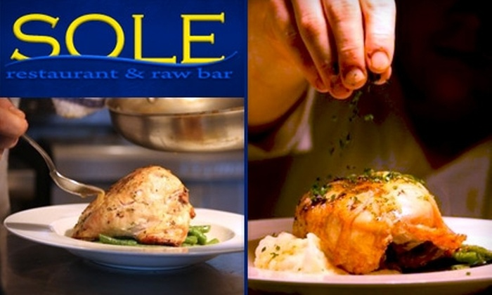 Sole Restaurant - New Pathways: $25 for $50 Worth of Seafood and Drinks at Sole Restaurant