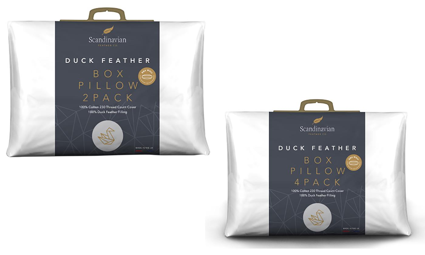 230TC 1000g Duck Feather Pillows or Scented Pillow Covers