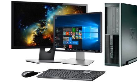 "Ordenador de sobremesa HP Elite 8200 reacondicionado con opción a monitor de 19"" o 22"" (envío gratuito)"