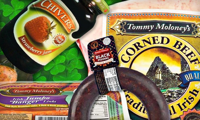 Tommy Moloney's - Evansville: Irish Meats, Groceries, and Gifts from Tommy Moloney's (Up to 57% Off). Two Options Available.