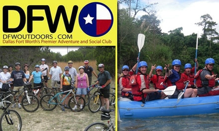 DFW Outdoors - Dallas: $12 for a 45-Day Membership to DFW Outdoors