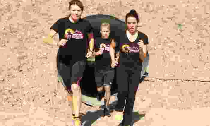 American Hot Shots Extreme Run - Solvang-Santa Ynez: $35 for a 3-Mile Charity Obstacle Race from American Hot Shots Extreme Run ($79 Value)