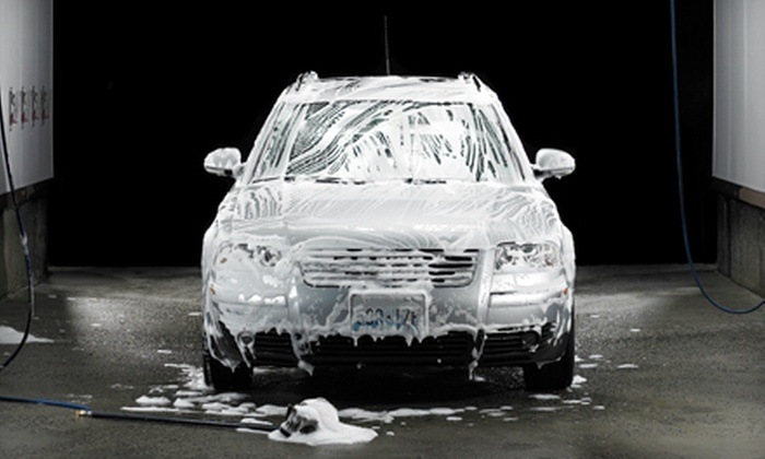 Hesperian 100% Hand Carwash - Lower Bal: Platinum Car Wash or a Full Detail with Headlight Restoration at Hesperian 100% Hand Carwash in San Leandro (Up to 52% Off)