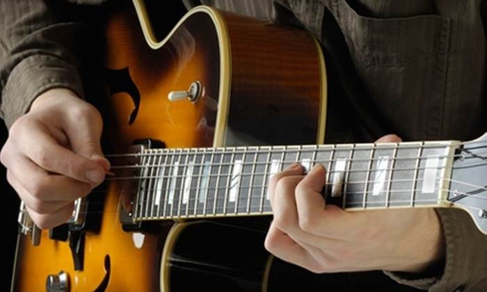 Greg Arney - Fenway/Kenmore: $60 for One Month of Private Guitar Lessons with Greg Arney ($125 Value)