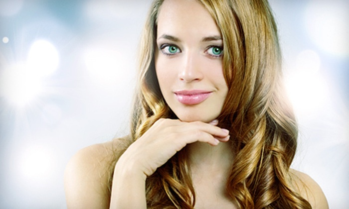 Dazzles Salon - Hackensack: Haircut with Optional Single-Process Color or Partial Highlights at Dazzles Salon in Hackensack (Up to 72% Off)