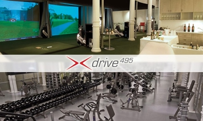 Drive495 - SoHo: $65 Golf and Fitness Package at Drive495 ($225 Value)