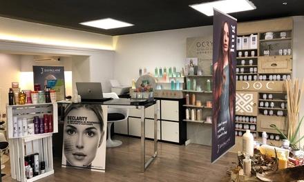 Higiene facial con opción a depilación facial y presoterapia corporal desde 24,99 € en Makers Barcelona Estilistas