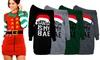 Christmas-Themed Knitted Jumper Dress