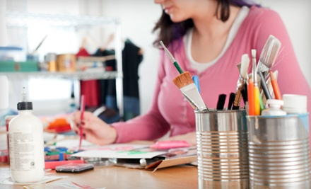 2-Hour BYOB Painting Class for 2 (a $70 value) - The Art Garden in Lawrenceville