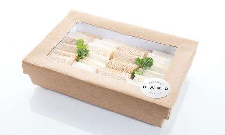Servicio de catering para 12 o 24 personas con 144 o 288 piezas desde 64,95 € en Catering Barú