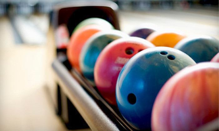 Spare Time & Shaker Bowl - Multiple Locations: Two Games of Bowling and Shoe Rental for Two or Four at Spare Time & Bradley Bowl (Up to 54% Off)